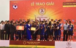 Vượt qua Hà Nội T&T ở loạt penalty, PVF vô địch giải U19 Quốc gia