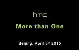 HTC gửi thư mời tham dự sự kiện ngày 8-4