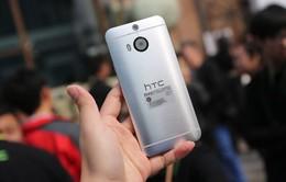 HTC One M9+ chính thức ra mắt với cảm biến vân tay