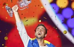 Nam ca sĩ Thụy Điển chiến thắng tại giải Eurovision 2015