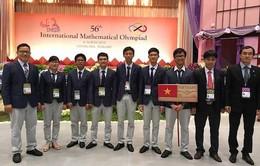 Việt Nam đứng thứ 5/104 nước dự Olympic Toán học quốc tế 2015