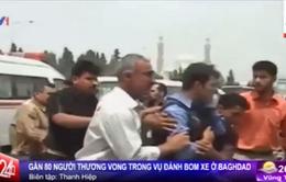 Iraq: Đánh bom xe, gần 80 người thương vong