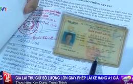 Gia Lai: Thu giữ số lượng lớn giấy phép lái xe giả hạng A1