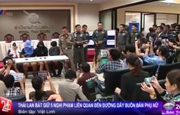 Thái Lan truy quét đường dây buôn bán phụ nữ sang Trung Quốc