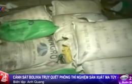 Bolivia: Truy quét phòng thí nghiệm sản xuất nửa tấn cocaine/tháng