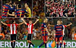 "Thua ""vỡ mặt"" Athletic Bilbao, Barcelona tan mộng ăn 6"