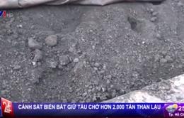 Quảng Ninh: Bắt giữ tàu chở hơn 2.000 tấn than lậu