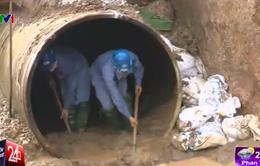 Khẩn cấp xây dựng thêm đường ống dẫn nước sông Đà trong 90 ngày