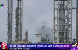 Việt Nam: 4.300 người chết yểu mỗi năm vì nhiệt điện than