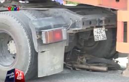 Báo động đỏ tình trạng xe tải hạng nặng gây tai nạn trong nội thị