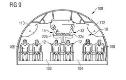 Cách thiết kế chỗ ngồi lạ lùng trên bằng sáng chế của Airbus