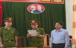 Hà Tĩnh khởi tố nguyên Chủ tịch UBND huyện Kỳ Anh