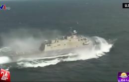 Hải quân Mỹ thử nghiệm tàu chiến thế hệ mới