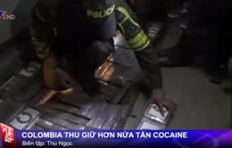 Nửa tấn cocaine ngụy trang trong xe bus chở CĐV bóng đá