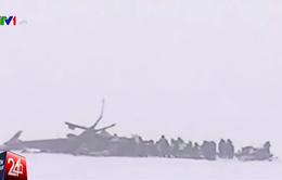 Chưa rõ nguyên nhân khiến máy bay Nga rơi tại Siberia