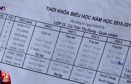 Phát hiện sai phạm tại các trường bị nghi dạy thiếu môn ở TP.HCM