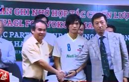 Tuấn Anh chính thức ký hợp đồng với Yokohama FC