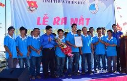 TT-Huế ra mắt 2 CLB Ngư dân trẻ