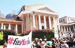 Nam Phi: Sinh viên biểu tình phản đối tăng học phí
