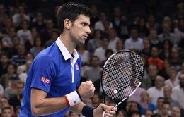 """Djokovic đoạt giải """"Tay vợt của năm"""""""
