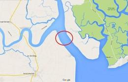 Tàu cá chìm trên sông Soài Rạp, 5 người mất tích