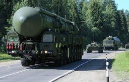 Nga tập trận tên lửa chiến lược quy mô lớn
