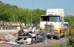 Vụ TNGT làm 5 người chết: Tài xế containerđạp nhầm chân ga