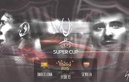 01h45 ngày 12/8, Barcelona - Sevilla: Chiến quả đầu mùa