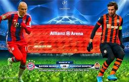 Bayern Munich – Shakhtar Donetsk: Không thể có thêm sai sót (2h45, 12/3)
