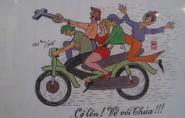 Những tình huống dở khóc, dở cười về giao thông qua hơn 100 tranh biếm họa
