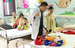 Bệnh viện Nhi T.Ư: Không còn cảnh bệnh nhân phải nằm ghép