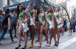 Độc đáo cuộc thi Hoa hậu vòng 3 tại Brazil