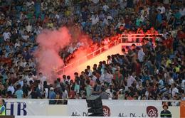 BTC sân Mỹ Đình lo ngại về nạn pháo sáng trong 2 trận đấu của ĐT Việt Nam