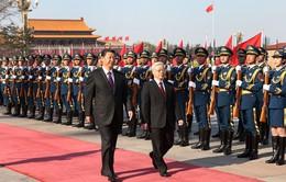 Tổng Bí thư Nguyễn Phú Trọnggửi điện cảm ơn Tổng Bí thư, Chủ tịch Trung Quốc