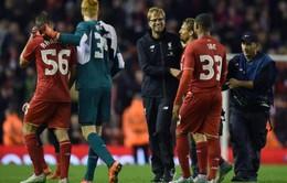 League Cup: Liverpool hẹn Man City ở trận chung kết tại Wembley