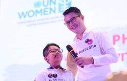Ca sĩ Hoàng Bách ủng hộ nữ quyền