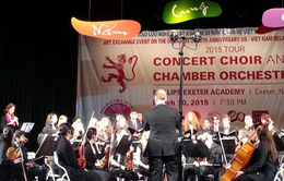 """Sinh viên nhạc viện Mỹ hát """"chèo"""": Đường trường duyên phận"""