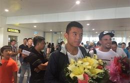 Lý Hoàng Nam trở về nước trong sự chào đón nồng nhiệt của NHM