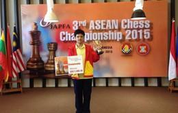 Anh Khôi vô địch cờ vua Đông Nam Á ở tuổi 13