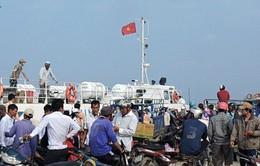Khách du lịch đến với đảo Lý Sơn tăng đột biến