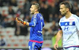 Ligue 1: Lyon bất ngờ thất bại trên sân nhà trước Montpellier