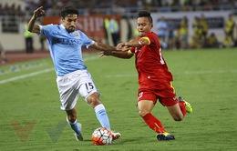 Man City 8-1 ĐTQG Việt Nam: Trận giao hữu đáng nhớ