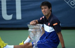 BXH ATP tháng 8: Nishikori lọt top 4