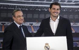 Chủ tịch Perez nói gì trong ngày tạm biệt thủ quân Iker Casillas?