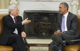 Việt Nam - Hoa Kỳ ký 4 văn kiện hợp tác nhân chuyến thăm của Tổng Bí thư