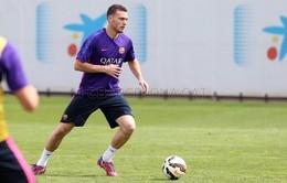 Vượt qua bài kiểm tra thể lực, Vermaelen chờ ra mắt Barcelona