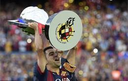 Xavi nghẹn ngào trong ngày tạm biệt Barca