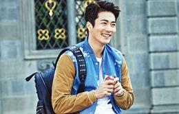 Kwon Sang Woo lần đầu khoe ảnh con gái