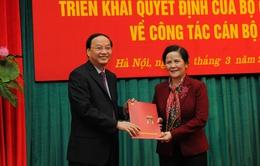 Đồng chí Ngô Thị Doãn Thanh được điều động làm Phó trưởng Ban Dân vận TƯ