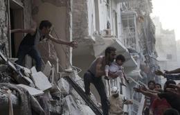 Quân chính phủ Syriakhông kích IS,hơn 70 người thiệt mạng